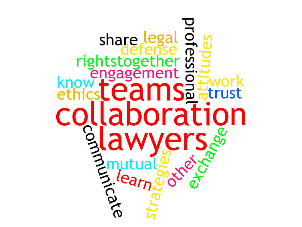 COLLABORATING WITH OTHER LAWYERS AND LEGAL TEAMS